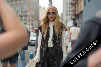 rachel zoe in Fashion Week Street Style: Day 3
