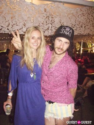 rachelle hruska in Coachella 2010: The Shows, Parties & People