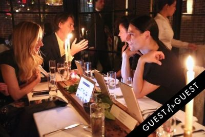 olivier theyskens in The Relaunch of Guest of a Guest & The Prelaunch of The Ludlow Hotel