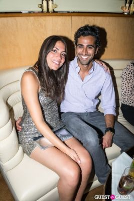 rahim kurji in BCBGMAXAZRIA Runway After Party