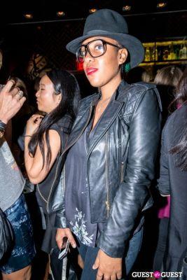 rai mensah in Rebecca Minkoff S/S14 After Party