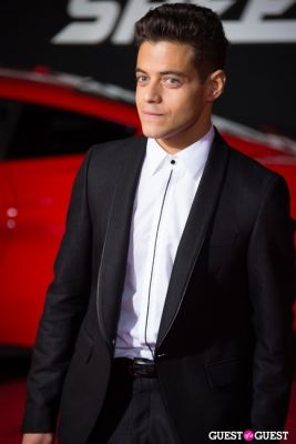 rami malek in U.S. Premiere Of Dreamworks Pictures
