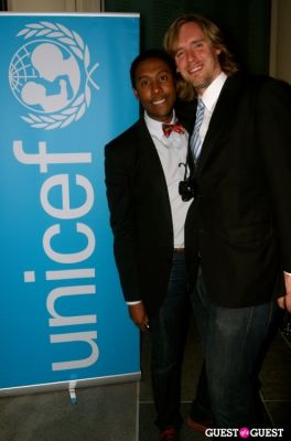 daniel reynolds in UNICEF Next Generation LA Launch Event