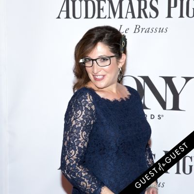 randi zuckerberg in The Tony Awards 2014