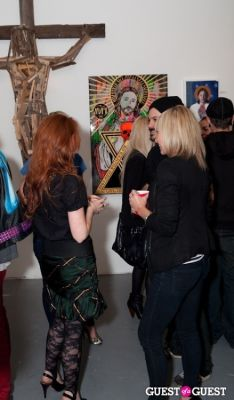 raquel beck-yamamoto in R&R Gallery Exhibit Opening