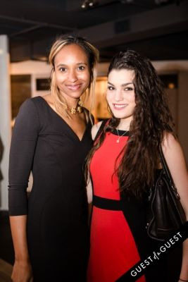 cara lemire in Ebony and Co. Design Week Party