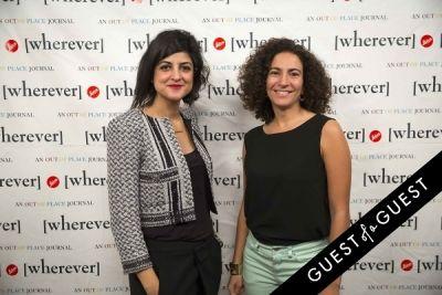 rawan hadid in Wherever Magazine Launch
