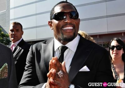 ray lewis in 2013 ESPYS: Arrivals