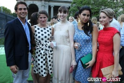 elizabeth corbin in The Frick Collection's Summer Garden Party