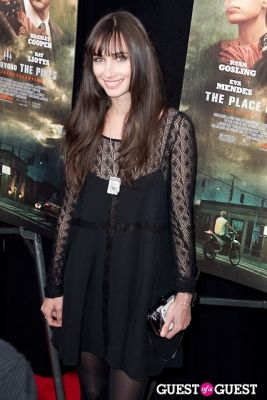 rebecca dayan in The Place Beyond The Pines NYC Premiere