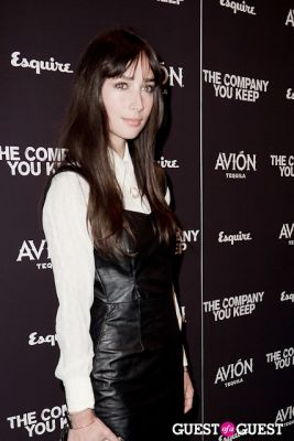 rebecca dayan in Avion Espresso Presents The Premiere of The Company You Keep