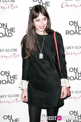 rebecca diane in NY Premiere of ON THE ROAD