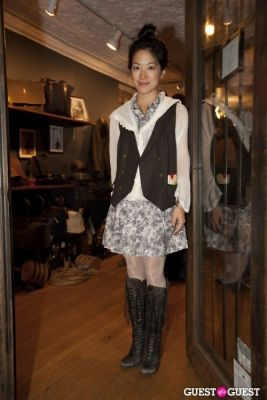 rebecca shim in Ernest Alexander Store Opening Party