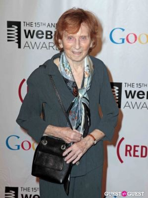 red burns in The 15th Annual Webby Awards