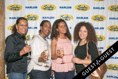 regina smith in Serafina Harlem Opening