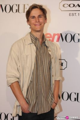 rhys wakefield in 9th Annual Teen Vogue 'Young Hollywood' Party Sponsored by Coach (At Paramount Studios New York City Street Back Lot)