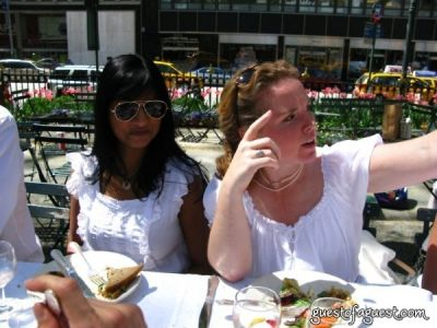 richa chandra in Belgium Brunch in Bryant Park