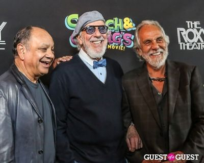 richard -cheech--marin in Green Carpet Premiere of Cheech & Chong's Animated Movie