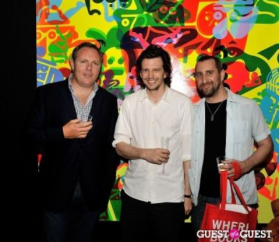 richard honey in Young Art Enthusiasts Inaugural Event At Charles Bank Gallery