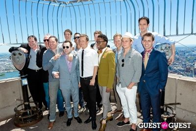 gabriel abert in Tony Award Nominees Photo Op Empire State Building
