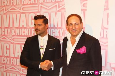 john demsey in MAC Viva Glam Launch with Nicki Minaj and Ricky Martin