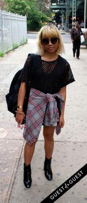 rika nurtahmoh in Summer 2014 NYC Street Style