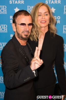"barbara bach in Ringo Starr Honored with ""Lifetime of Peace & Love Award"" by The David Lynch Foundation"