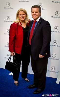 rita crosby in Mercedes Benz Manhattan Grand Opening