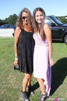 rita schrager in Bridgehampton Polo 2012
