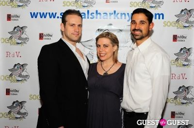 nader dajani in SocialSharkNYC.com Launch Party