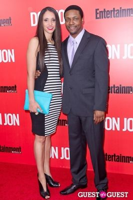 rob brown in Don Jon Premiere