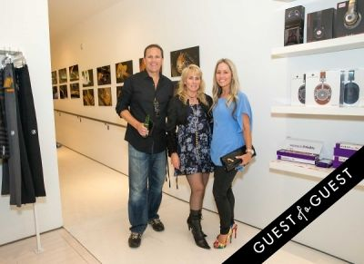 rob christie in Lisa S. Johnson 108 Rock Star Guitars Artist Reception & Book Signing