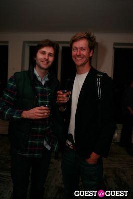 rob gorski in Brian Sensebe + Federico Saenz-Recio opening reception