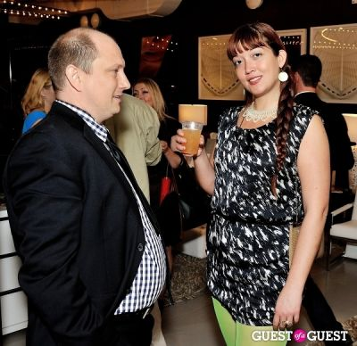 rob stearns in Luxury Listings NYC launch party at Tui Lifestyle Showroom