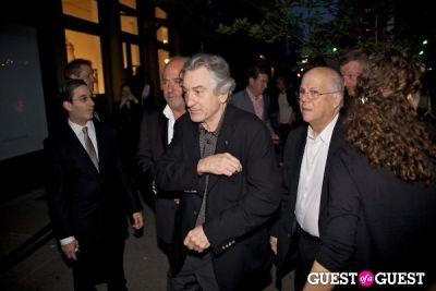 robert deniro in Chanel Tribeca Film Festival Dinner