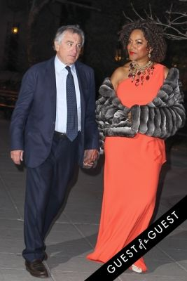 grace hightower in Vanity Fair's 2014 Tribeca Film Festival Party Arrivals