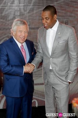 robert kraft in 40/40 Anniversary