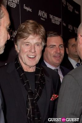 robert redford in Avion Espresso Presents The Premiere of The Company You Keep