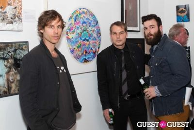 nicholas bowers in Cat Art Show Los Angeles Opening Night Party at 101/Exhibit