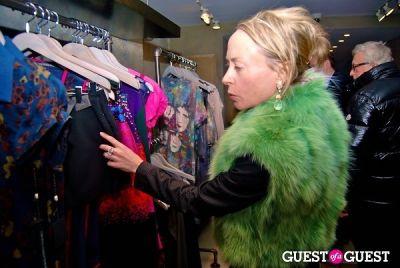 robin cofer in Ashley Turen's Holiday Fashion Fete
