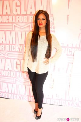 rocsie diaz in MAC Viva Glam Launch with Nicki Minaj and Ricky Martin