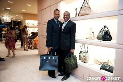 rodney foster in Spring Charity Shopping Event at Nival Salon and Jimmy Choo