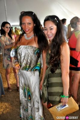 anhthu nguyen in Bridgehampton Polo Closing Day