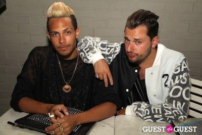 romain poterle in LA CANVAS Presents The Fashion Issue Release