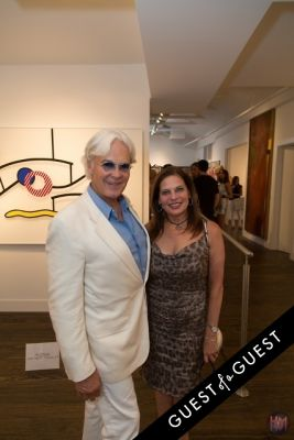 ron burkharot in Gallery Valentine, Mas Creative And Beach Magazine Present The Art Southampton Preview