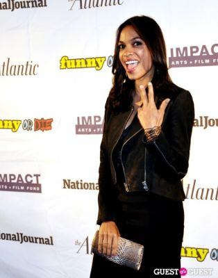 rosario dawson in WHCD First Amendment Party