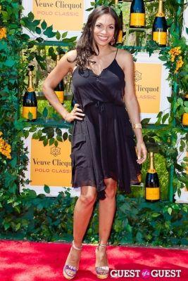 rosario dawson in Veuve Clicquot Polo Classic 2013
