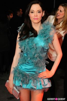 rose mcgowan in The New Museum Spring Gala 2011