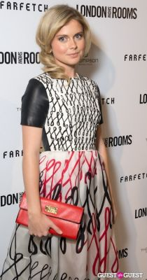rose mciver in British Fashion Council Present: LONDON Show ROOMS LA Cocktail Party