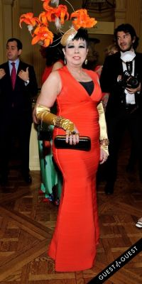 rosemary ponzo in Frick Collection Flaming June 2015 Spring Garden Party